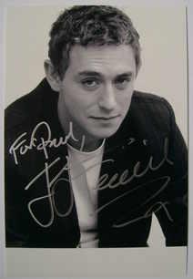 JJ Feild autograph