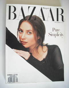 Harper's Bazaar magazine - September 1993 - Christy Turlington cover