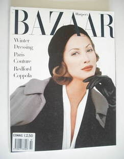 <!--1992-10-->Harper's Bazaar magazine - October 1992 - Christy Turlington