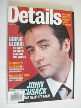 Details magazine - August 1997 - John Cusack cover
