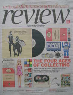 The Daily Telegraph Review newspaper supplement - 30 October 2010 - The Fou