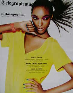 <!--2011-03-05-->Telegraph magazine - Jourdan Dunn cover (5 March 2011)