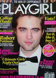 Playgirl magazine - Robert Pattinson cover (April 2011)
