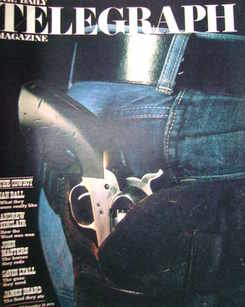 <!--1975-11-21-->The Daily Telegraph magazine - The Cowboy cover (21 Novemb