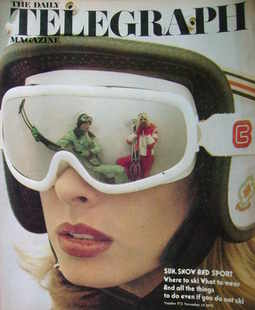 <!--1975-11-14-->The Daily Telegraph magazine - Sun, Snow and Sport cover (