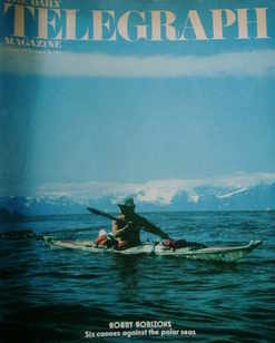 <!--1975-11-28-->The Daily Telegraph magazine - Hoary Horizons cover (28 No