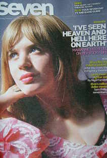 Seven magazine - Marianne Faithfull cover (6 March 2011)