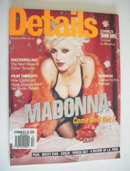Details magazine - December 1994 - Madonna cover