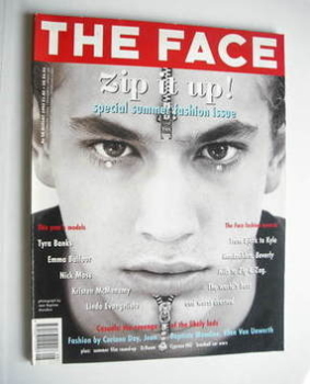 The Face magazine - Zip It Up cover (August 1993 - Volume 2 No. 59)
