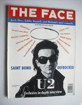 <!--1992-04-->The Face magazine - Bono cover (April 1992 - Volume 2 No. 43)
