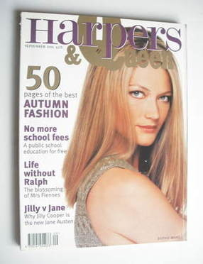 <!--1996-09-->British Harpers & Queen magazine - September 1996 - Sophie Wa