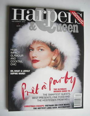 <!--1994-12-->British Harpers & Queen magazine - December 1994 - Sophie War