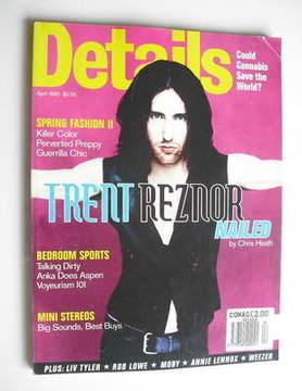<!--1995-04-->Details magazine - April 1995 - Trent Reznor cover