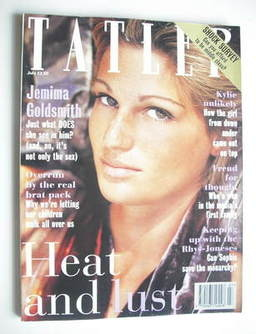 <!--1994-07-->Tatler magazine - July 1994 - Jemima Goldsmith cover