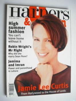 British Harpers & Queen magazine - July 1996 - Jamie Lee Curtis