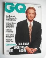 <!--1990-05-->British GQ magazine - May 1990 - Charles Dance cover