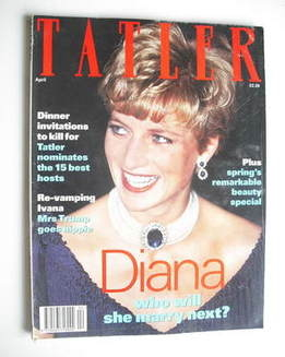 <!--1993-04-->Tatler magazine - April 1993 - Princess Diana cover