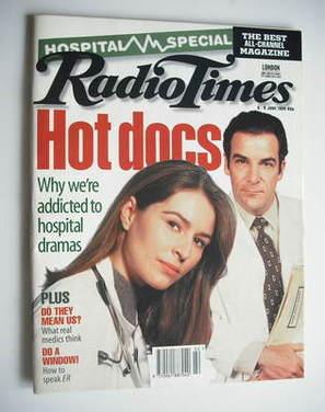 <!--1995-06-03-->Radio Times magazine - Helen Baxendale and Mandy Patinkin