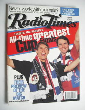 <!--1995-05-20-->Radio Times magazine - Gary Lineker and Alan Hansen cover