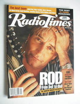 <!--1995-06-17-->Radio Times magazine - Rod Stewart cover (17-23 June 1995)