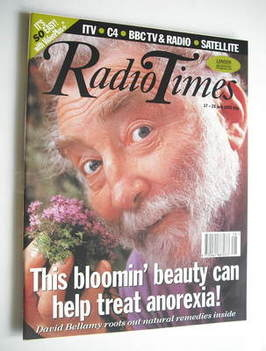 <!--1993-07-17-->Radio Times magazine - David Bellamy cover (17-23 July 199
