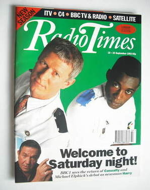<!--1993-09-18-->Radio Times magazine - Derek Thompson and Patrick Robinson