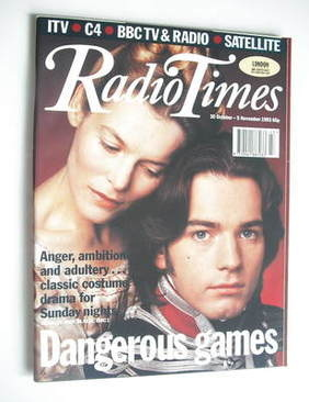 <!--1993-10-30-->Radio Times magazine - Ewan McGregor and Alice Krige cover