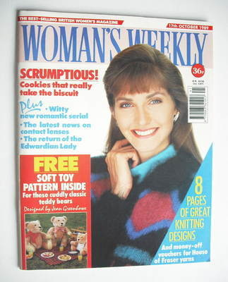 <!--1989-10-17-->Woman's Weekly magazine (17 October 1989)