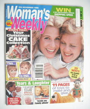 <!--1996-11-05-->Woman's Weekly magazine (5 November 1996)