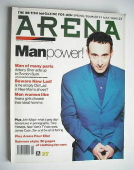 Arena magazine - Spring/Summer 1991 - Manpower cover