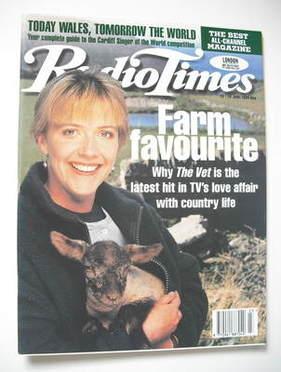 <!--1995-06-10-->Radio Times magazine - Suzanne Burden cover (10-16 June 19