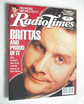 <!--1996-03-09-->Radio Times magazine - Chris Barrie cover (9-15 March 1996