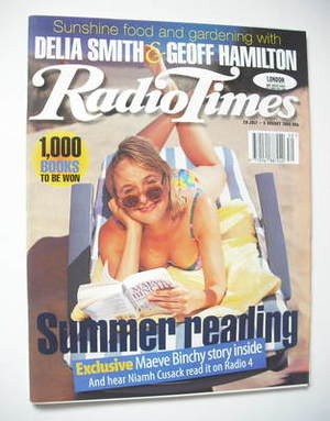 <!--1995-07-29-->Radio Times magazine - Niamh Cusack cover (29 July - 4 Aug
