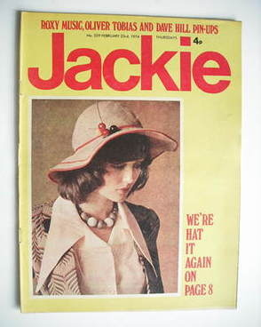 <!--1974-02-23-->Jackie magazine - 23 February 1974 (Issue 529)
