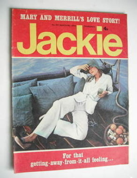 Jackie magazine - 9 March 1974 (Issue 531)
