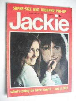 Jackie magazine - 23 March 1974 (Issue 533)