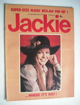 Jackie magazine - 30 March 1974 (Issue 534)