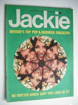 Jackie magazine - 6 April 1974 (Issue 535)