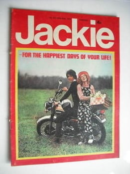 Jackie magazine - 20 April 1974 (Issue 537)