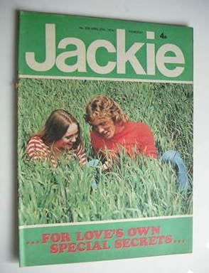 <!--1974-04-27-->Jackie magazine - 27 April 1974 (Issue 538)