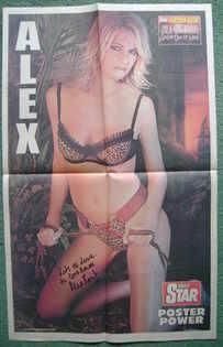 Alex Best autograph