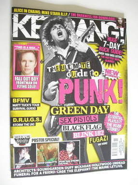 <!--2011-03-19-->Kerrang magazine - Billie Joe Armstrong cover (19 March 20