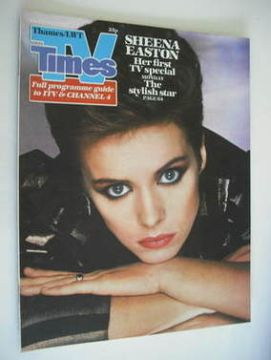 <!--1982-12-11-->TV Times magazine - Sheena Easton cover (11-17 December 19