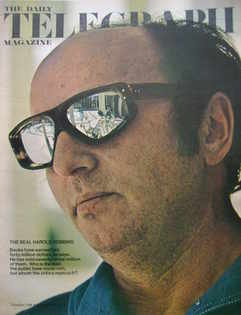 The Daily Telegraph magazine - Harold Robbins cover (11 September 1970)