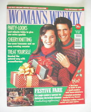 <!--1989-12-19-->Woman's Weekly magazine (19 December 1989)