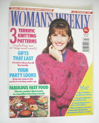 <!--1989-12-12-->Woman's Weekly magazine (12 December 1989)