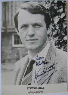 Kevin Whately autograph