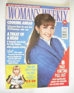 <!--1989-11-07-->Woman's Weekly magazine (7 November 1989)