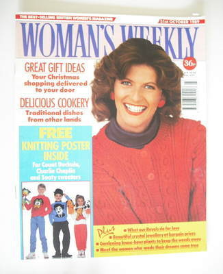 <!--1989-10-31-->Woman's Weekly magazine (31 October 1989)