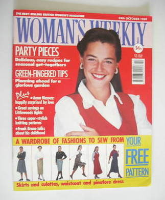 <!--1989-10-24-->Woman's Weekly magazine (24 October 1989)
